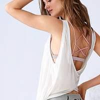 Draped Crossback Tank - Vintage Tees - Victoria's Secret