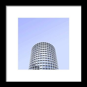 Urban Architecture - Tottenham Court Road, London, United Kingdom 2a - Framed Print