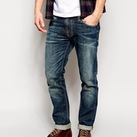 Nudie Jeans Thin Finn Slim Fit Dusk Indigo Dark