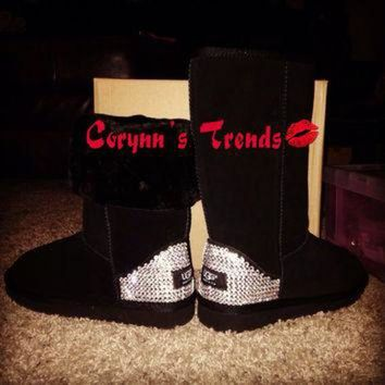 DCCK8X2 Blinged Uggs
