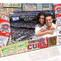 4X6 Picture Frame - Chicago Cubs