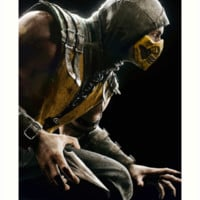 Mortal Kombat X Scorpion Art Print