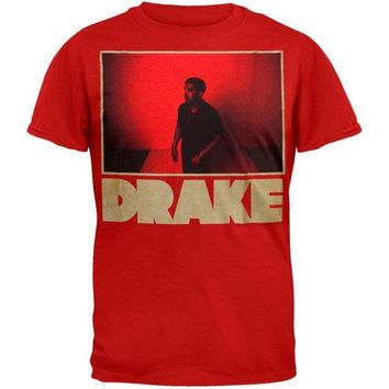 DCCKU3R Drake - Red Photo T-Shirt