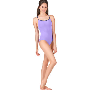 "Adult ""Alina"" Adjustable Loop Camisole Leotard"