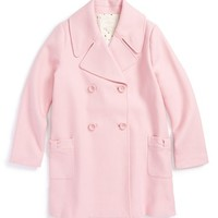 Infant Girl's kate spade new york kids 'jacques' coat,