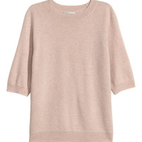 H&M Short-sleeved Cashmere Sweater $79.99