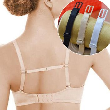 5Pcs Double-shoulder Strap Bra Non Slip Buckle Adjustable