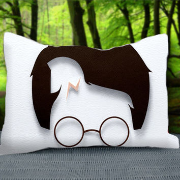 "Cute Harry Potter Cartoon Custom Pillow Case 30"" x 20"""