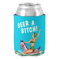 Ladies beer coozy or koozie or jacket or cooler can cooler