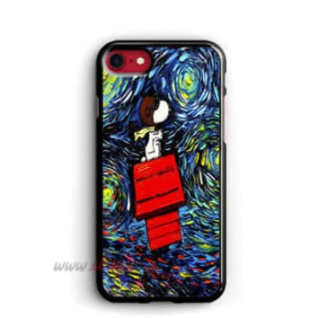 Snoopy Starry Night iPhone cases Van Gogh samsung case iPhone X cases
