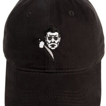 The Myers Dad Hat in Black