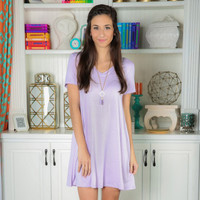 Mini Short Sleeve Dress