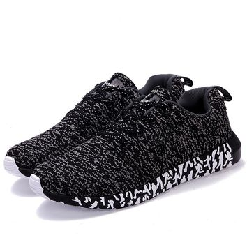 New Breathable Men Casual Shoes Woven Shoes Men Sneakers Fashion Trainers For Men Flats Casual Men Shoes Tenis Masculino Adulto