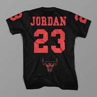 Michael Jordan Chicago Bulls Nba Retro 23 T Shirt