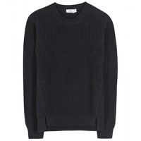 closed - cotton sweater