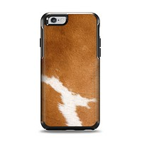 The Real Brown Cow Coat Texture Apple iPhone 6 Otterbox Symmetry Case Skin Set