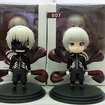 (2pcs/lot) Action figure Tokyo Ghoul Kaneki Ken cartoon doll PVC 10cm box-packed japanese figurine world anime