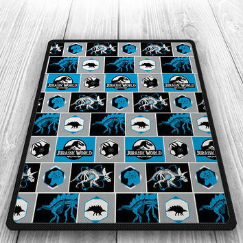 Jurassic World Dinosaurus DNA Blanket, Quilt, Fleece Blanket, Large Size, Medium Size, Small Size