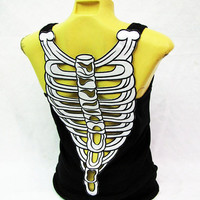tank top embellished Skeleton