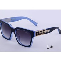 VERSACE New fashion glasses men leopard print sunglasses women glasses