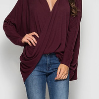 Willow Twist Front Top