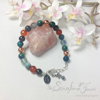 Vitality Arthritis Pain Relief Crystal Healing Spiritual Jewelry Healing Jewelry Reiki Jewelry Gifts for Her Gifts for Him