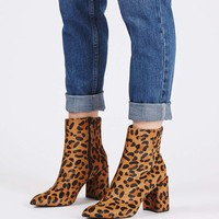 HEART Leopard Flare Boot - New In This Week - New In