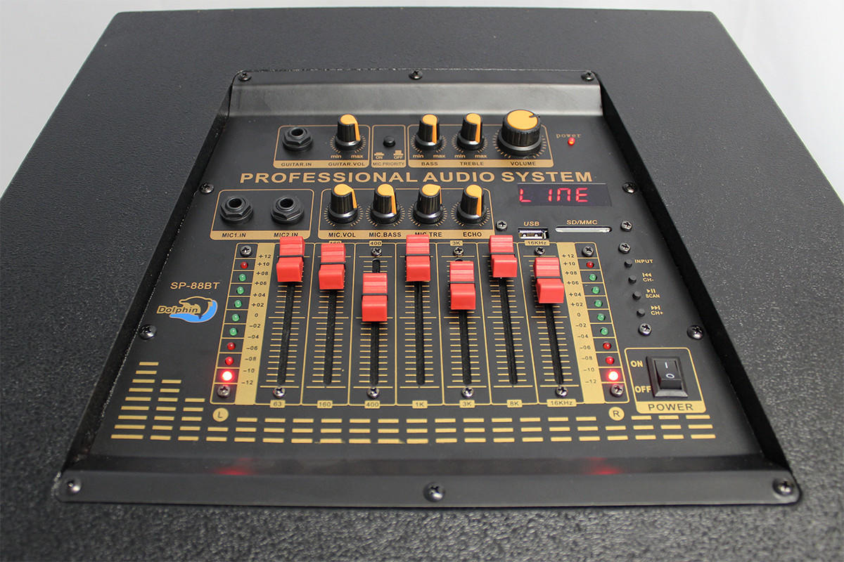 Sp 88 Bt Dolphin Audio Active Dj Party From 310audio Com