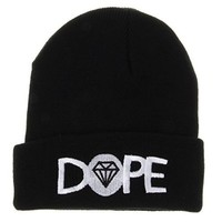 Soyagift D Diamond Winter Knit Beanie Hat Sg198