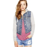 Denim Jacket with Fleece
