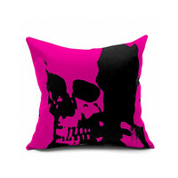 Cotton Flax Pillow Cushion Cover Halloween    WS056