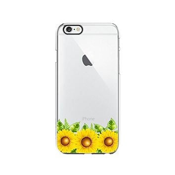 Sunflower Transparent Silicone Plastic Phone Case for iphone 6 _ LOKIshop (iphone 6)