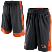 Cincinnati Bengals Nike Fly 2.0 Performance Shorts – Black - http://www.shareasale.com/m-pr.cfm?merchantID=7124&userID=1042934&productID=547701266 / Cincinnati Bengals