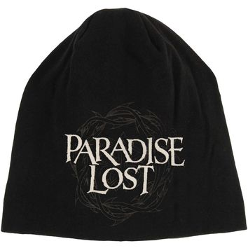 Paradise Lost Men's Crown Of Thorns Beanie Black