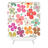 Garima Dhawan Dogwood Multi Shower Curtain