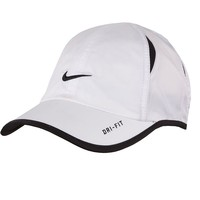 Nike Dri-FIT Swoosh Baseball Cap - Toddler, Size: 2T-4T (White)