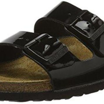 Birkenstock Arizona Black Patent Womens Leather Sandals Shoes sale  sandals  mayari  arizona  promo boston cheap