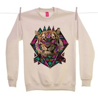 Street Market — Ohh Deer - Wild Magic - Sand Sweater By Kris Tate