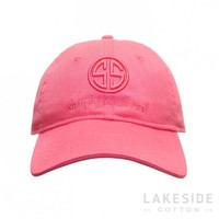 SS Logo Hat in Strawberry | Lakeside Cotton