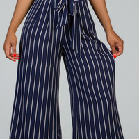 DELIGHTFUL Pin Striped Pants