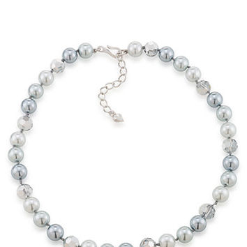 Carolee Cosmic Reflections Faux Pearl Necklace