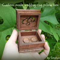 ring pillow, ring pillow box, ring pillow alternative, wedding ring pillow, ring bearer pillow, ring box, wedding ring box