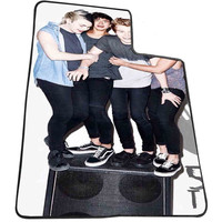 5sos logo band 0ef87db6-5d01-4110-a09d-37fb184aec10 for Kids Blanket, Fleece Blanket Cute and Awesome Blanket for your bedding, Blanket fleece *AD*