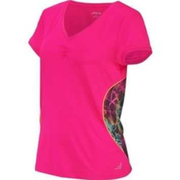 Academy - BCG™ Women's Short Sleeve V-neck Tennis Top