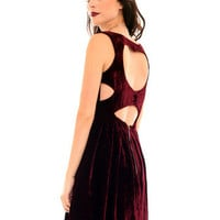 GYPSY WARRIOR - Velvet Sweetheart Dress