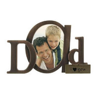 Malden Bronze Script Frame-Dad