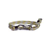"""""""Periscope"""" Paracord Bracelet with Black S-Hook Clasp"""