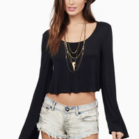 Flutter and Flow Boho Crop Top $34
