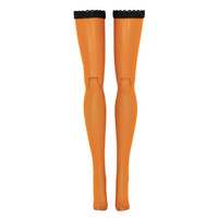 Pumpkin Spice Doll Stockings for Pullip 12'