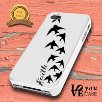 Demi Lovato Inspired Faith And Birds Tattoo for iphone, ipod, samsung galaxy, HTC and Nexus Case